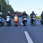 קטנועי 125 במבחן השוואתי מ-2011  –  מעמד הביניים (וידאו)