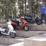 קטנועי 125 הזולים ביותר – במבחן השוואתי (וידאו)