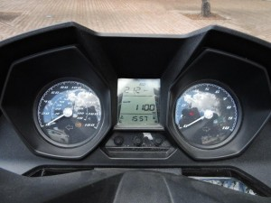 8kymco downtown 250i abs