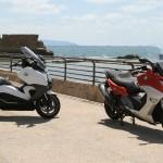 קטנועי ב.מ.וו C650GT ו- C650 ספורט  החדשים – מבחן דרכים