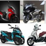 הקטנועים החדשים ל-2017